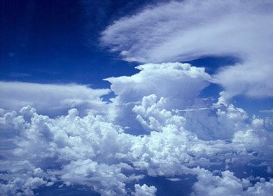 Marine cloud brightening is a geoengineering approach to cool the planet.