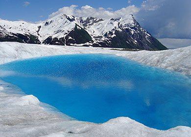 NPS Alaska glacial pool