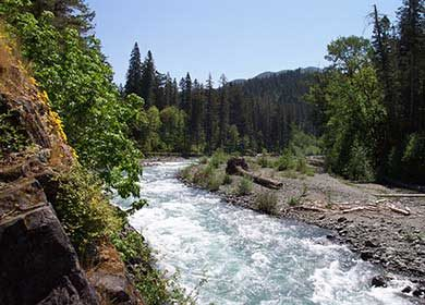 Elwha River. Olympic National Park. Courtesy of NPS.