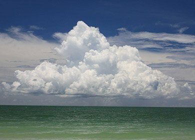 Clouds of the ocean.